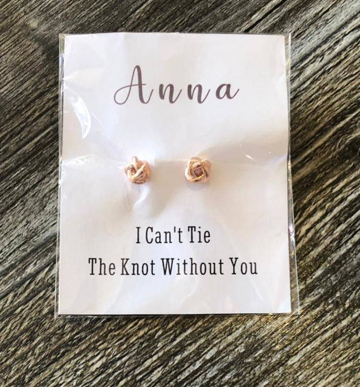 personalised bridesmaid gifts