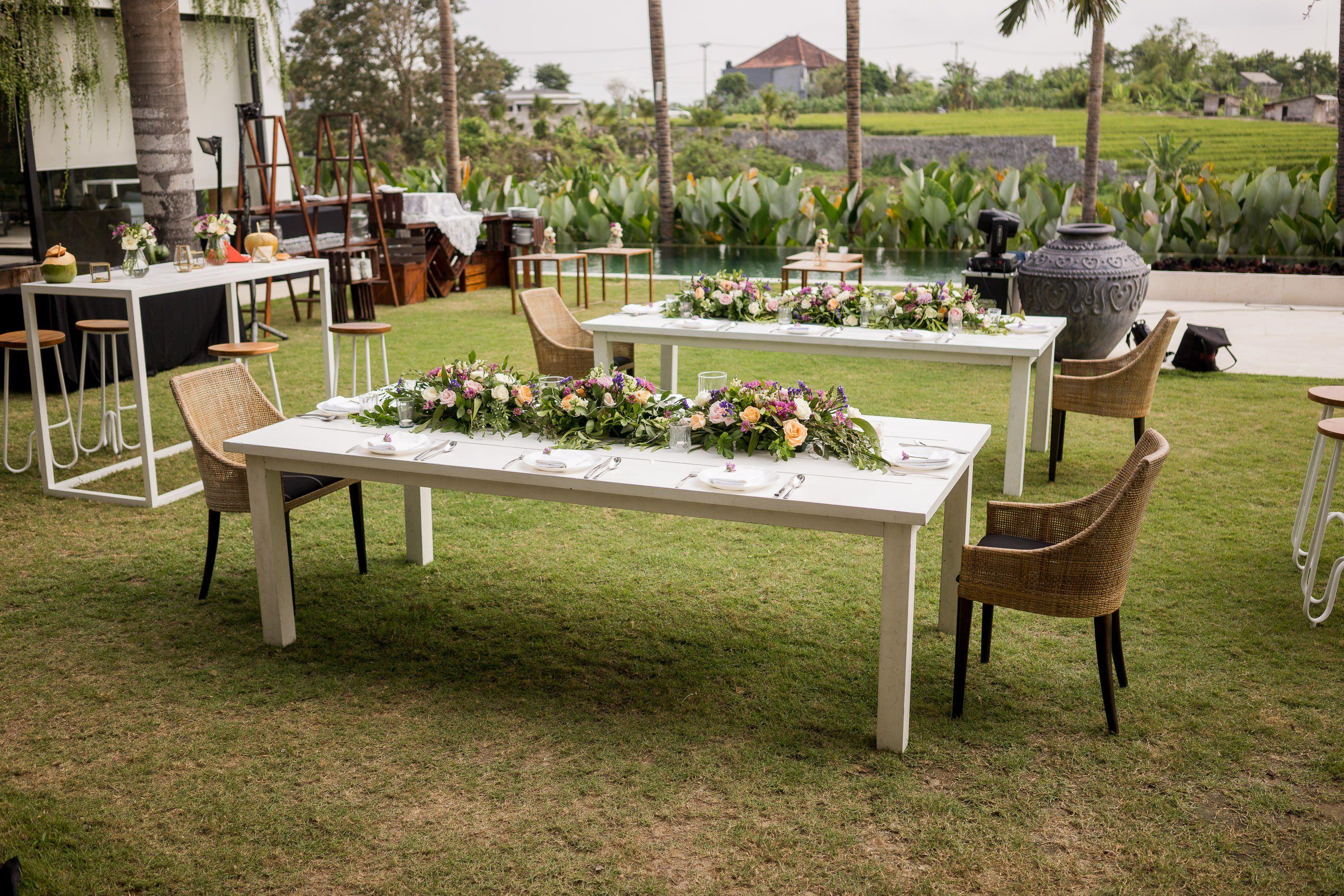 unique destination wedding decor ideas