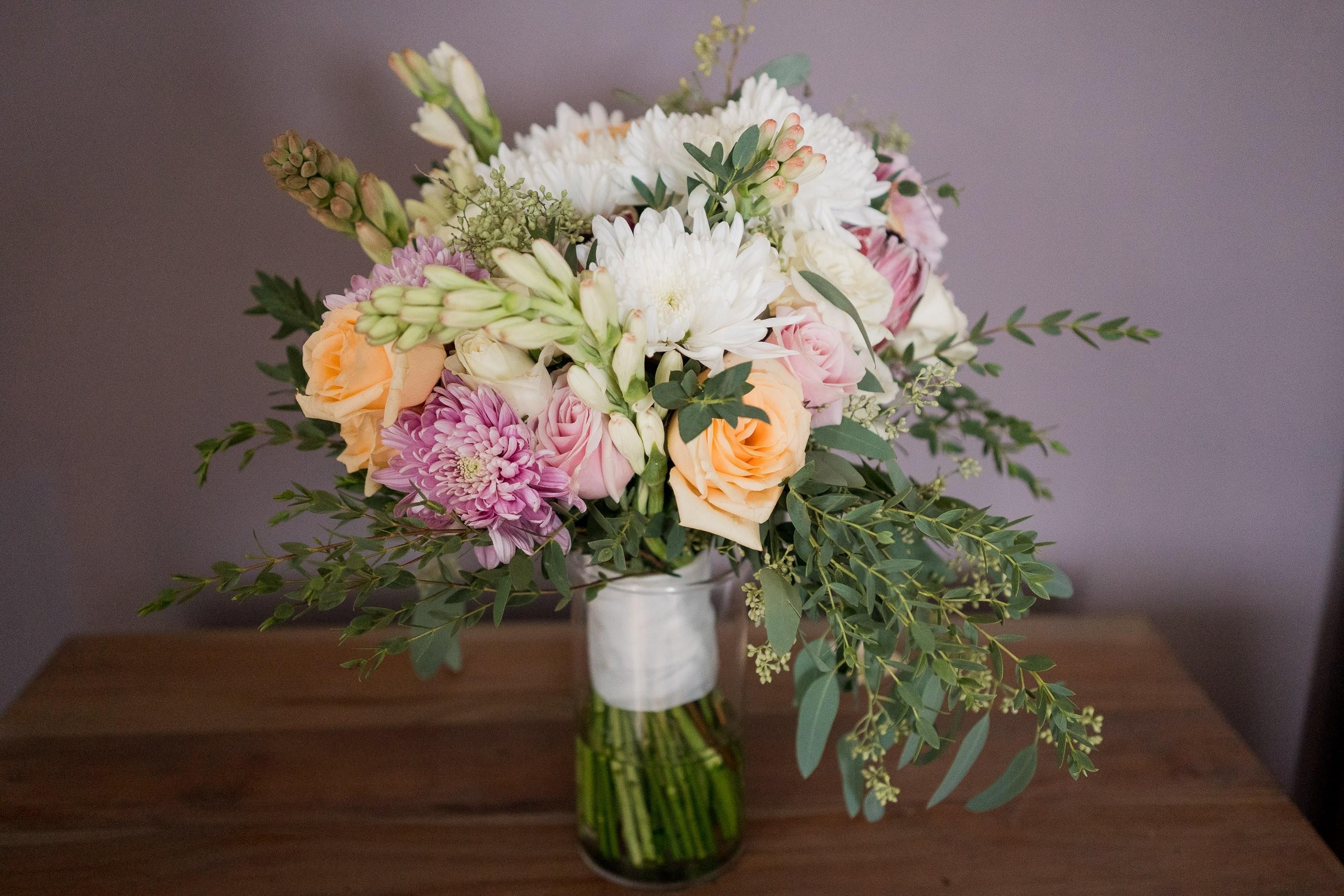 destination bridal bouquet