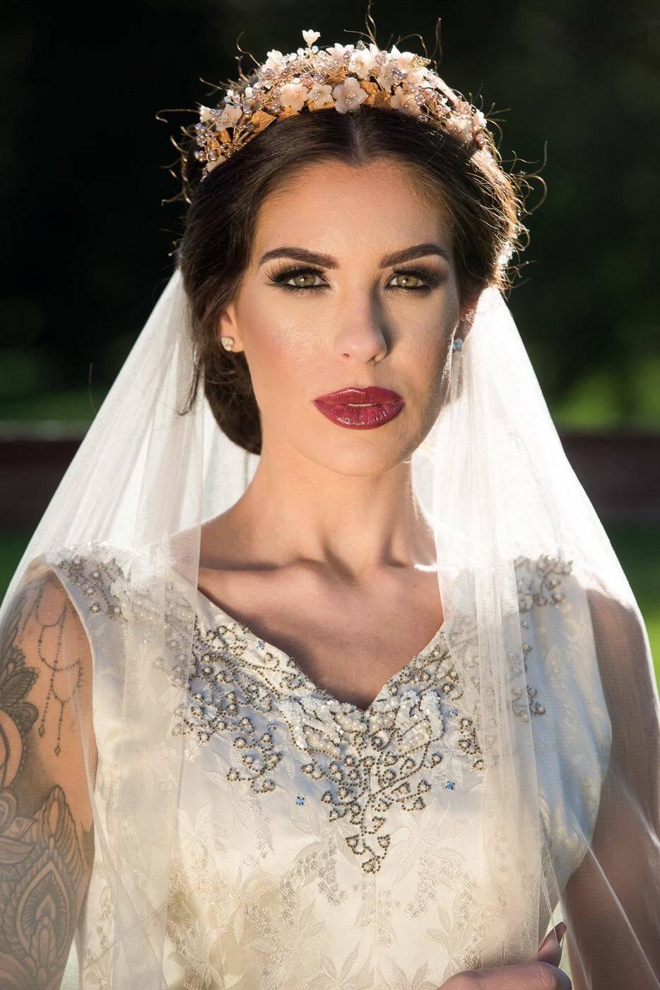 wedding hair wedding make up wedding tiara bride wedding dress real weddings