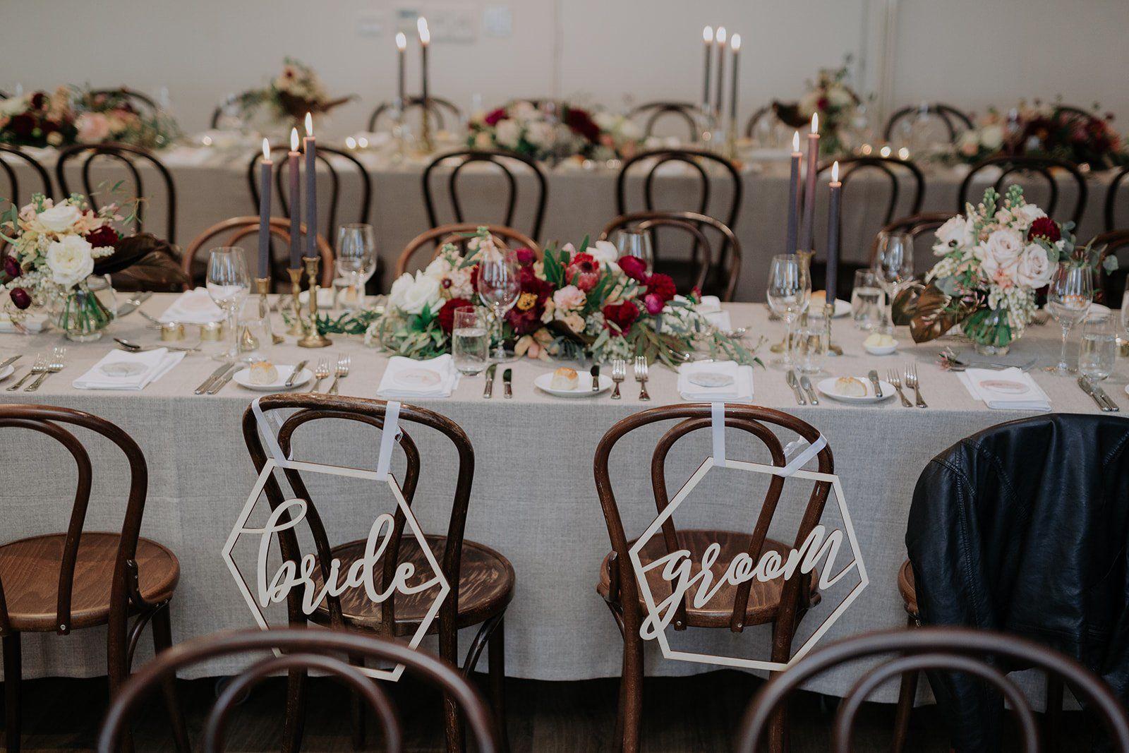 unique wedding decorations