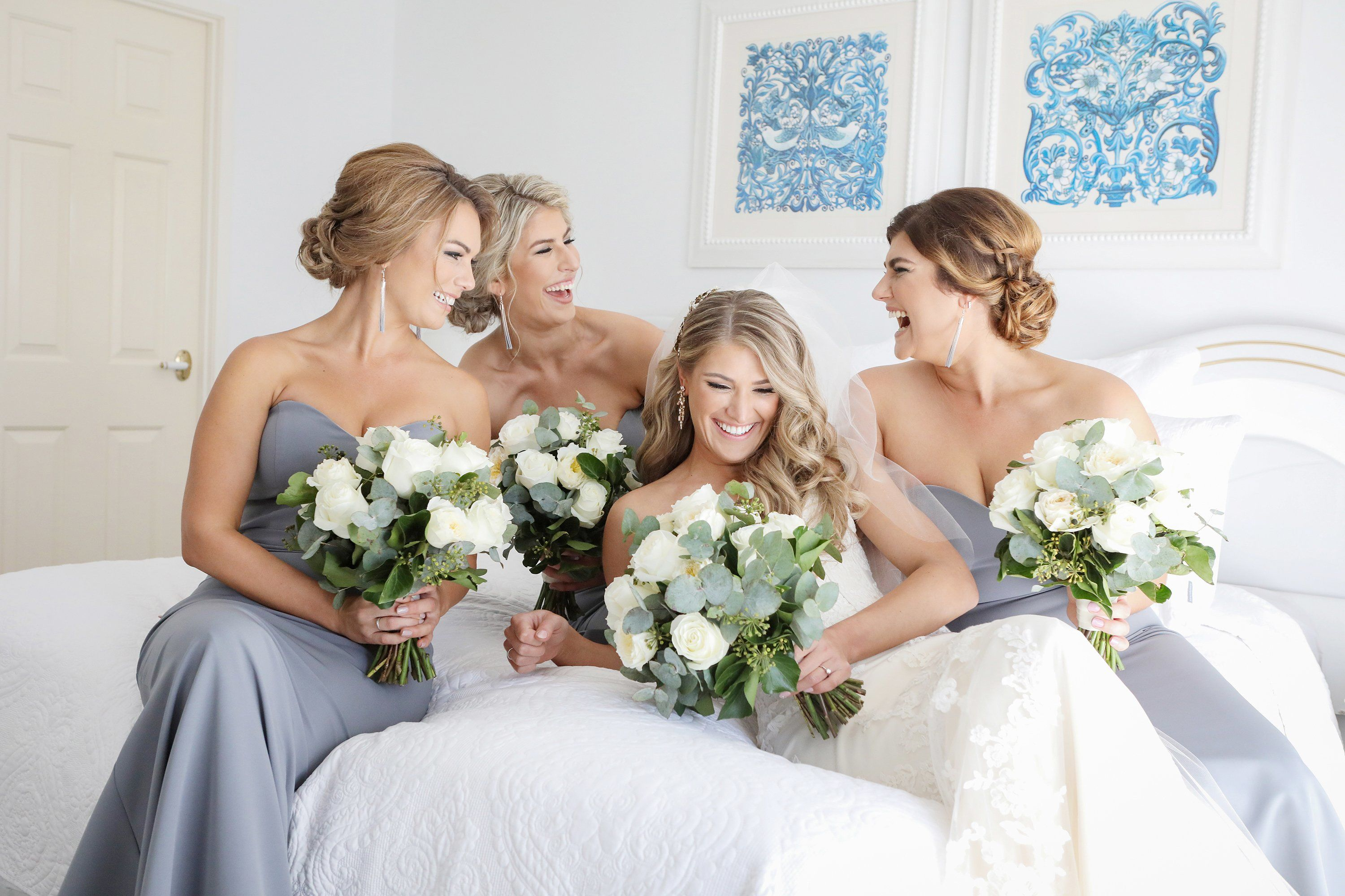 modern bridesmaids dresses