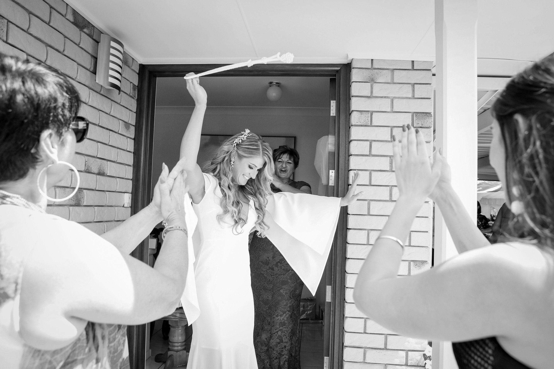 modern themed wedding