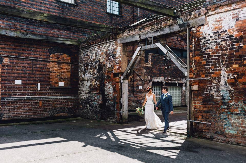 industrial wedding venues UK the bong weddings Birmingham