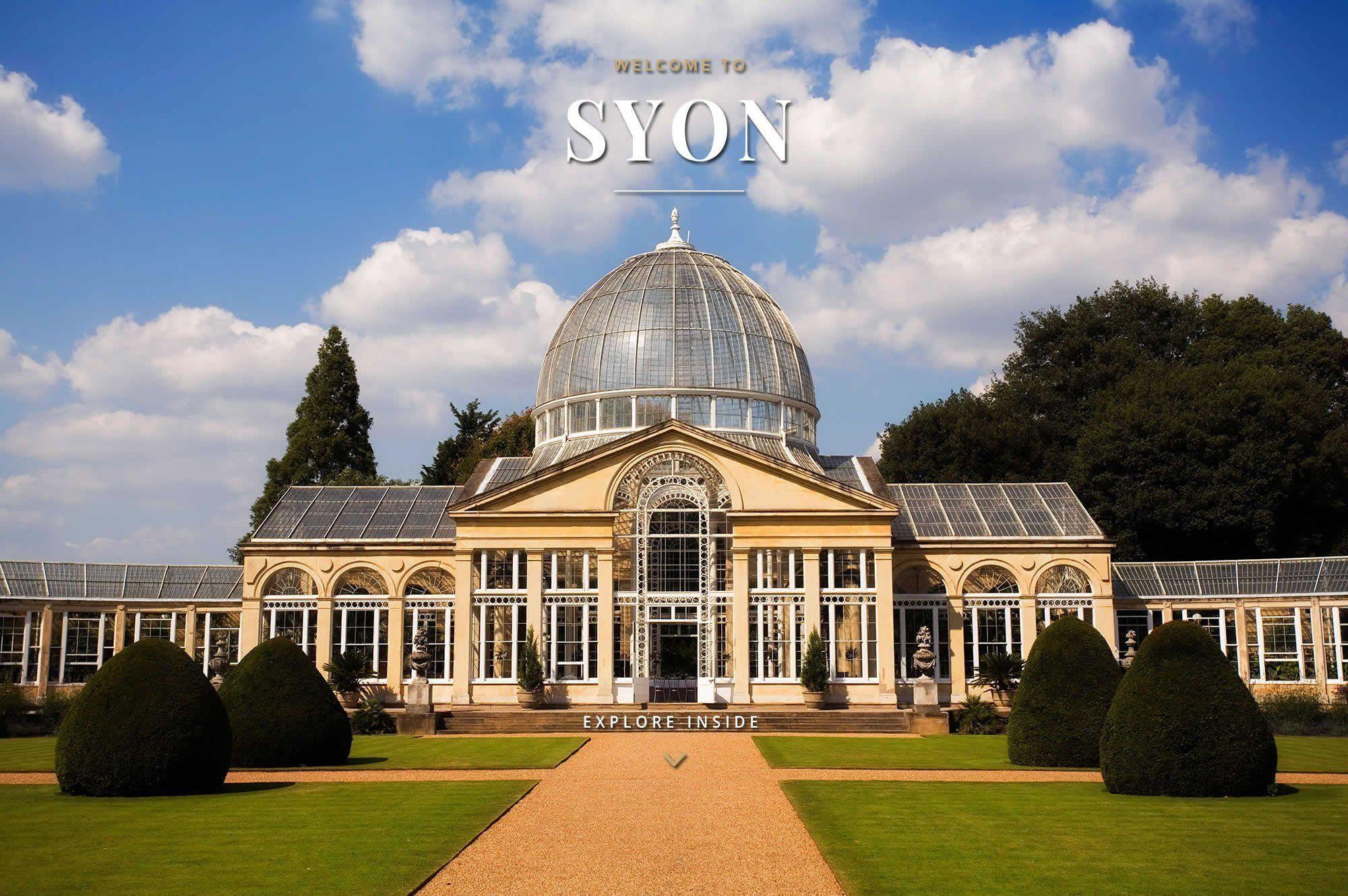 wedding venues in london syon park weddings