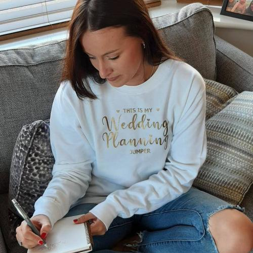 This is my wedding planning jumper