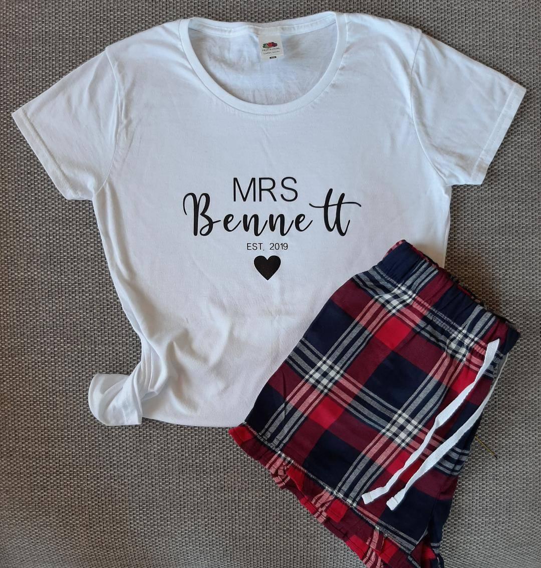 Personalised Wedding t shirt
