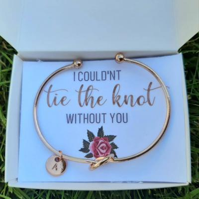 bridesmaid proposal bracelet