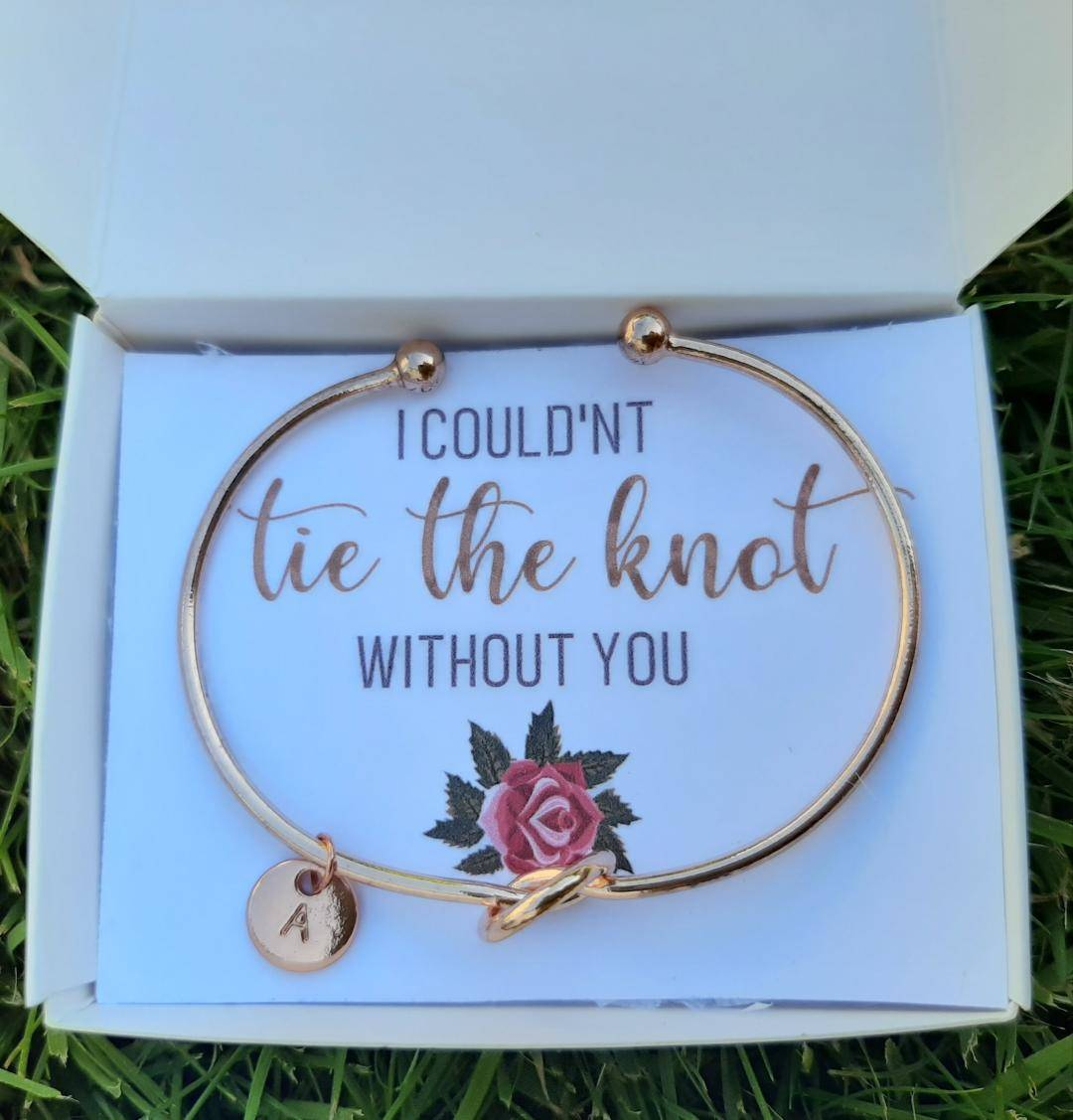 Bridesmaid Proposal Bracelet With Gift Box