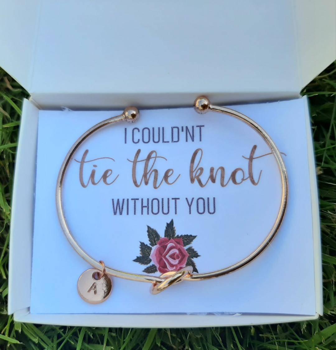 bridesmaid proposal bracelet