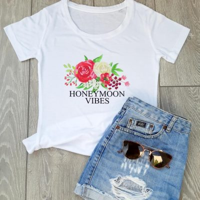 honeymoon vibes t shirt