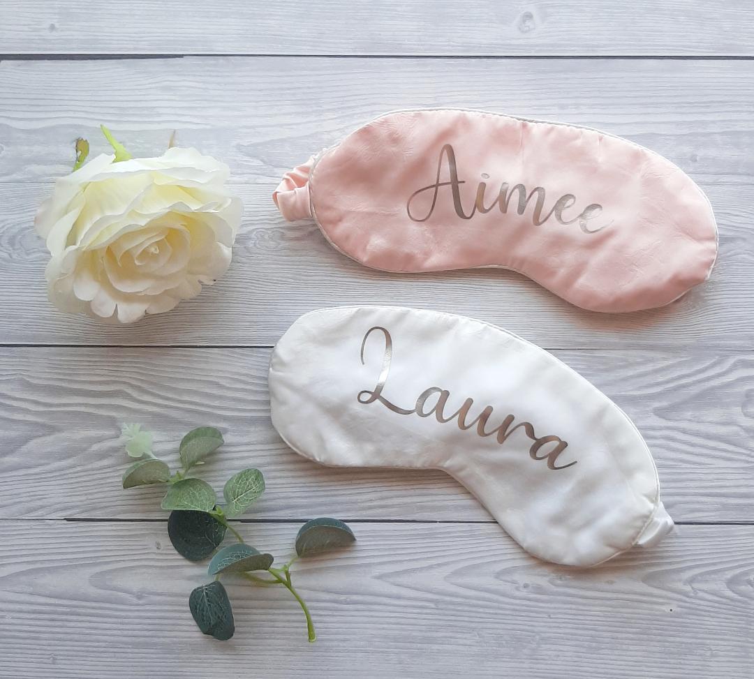 personalised sleep masks