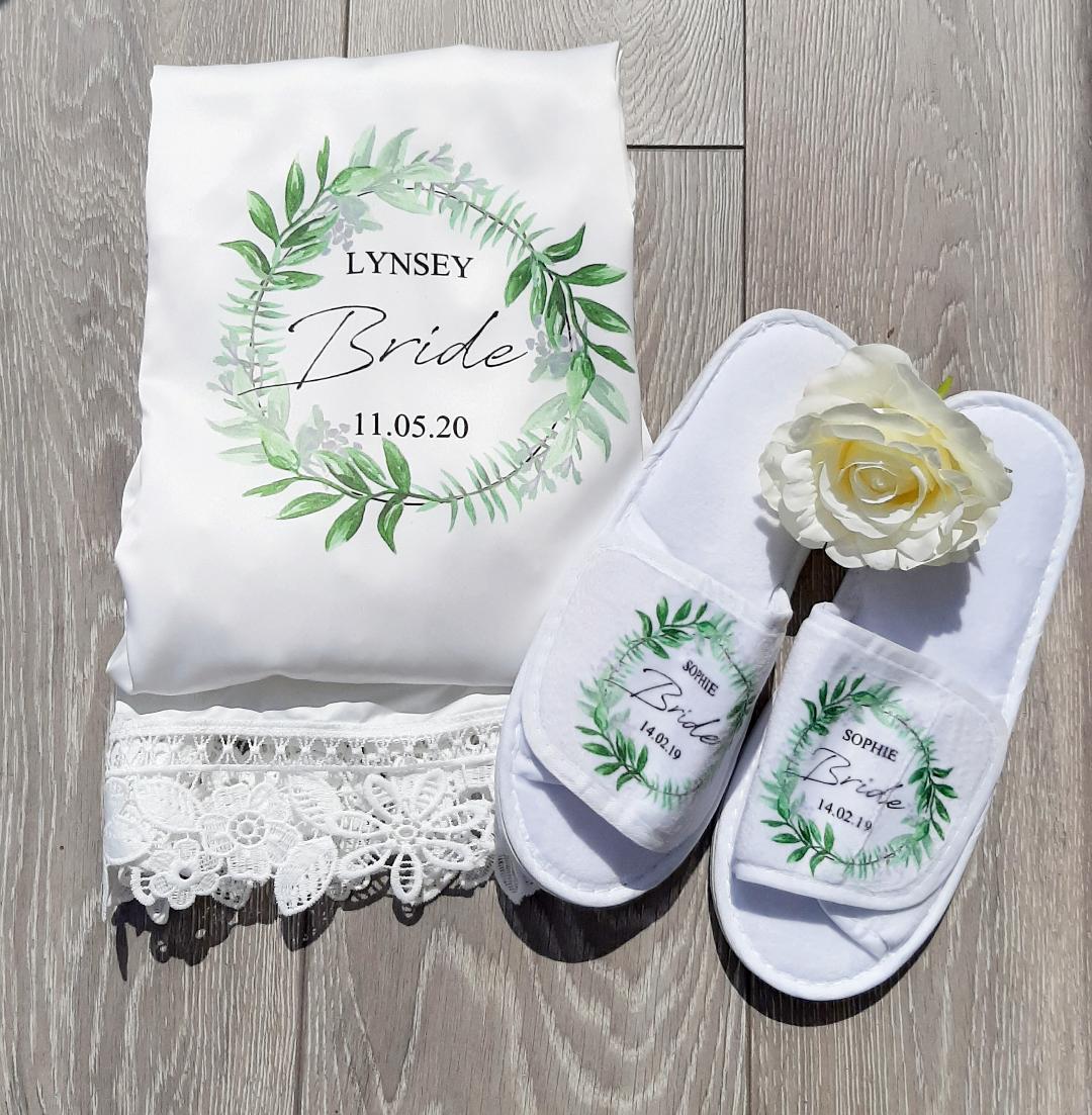 personalised hen party slippers